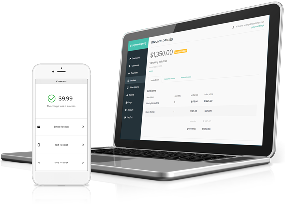 saas payment solutions - dashboard