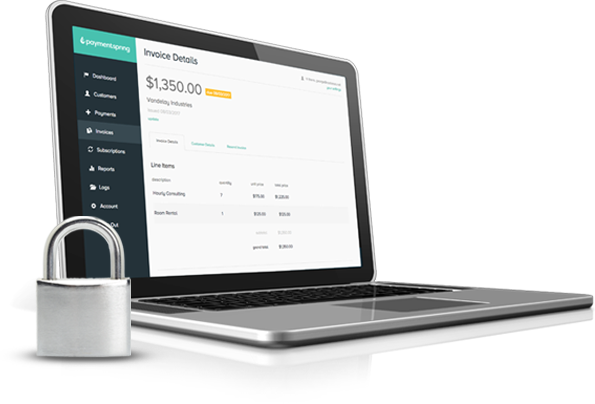 nonprofit payment processing - top tier security